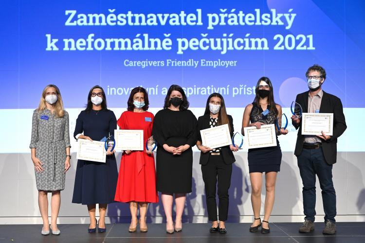 Zástupci zaměstnavatelů ocenění cenou ministryně práce a sociálních věcí