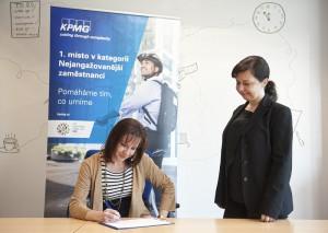 Hana Velíšková (KPMG), Miriam Zábrženská (Byznys pro společnost)