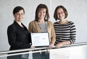 Miriam Zábrženská (Byznys pro společnost), Ivana Ježková (KPMG), Hana Velíšková (KPMG)