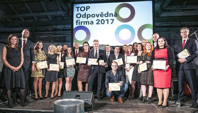 TOP OF 2017 rozdala ocenění
